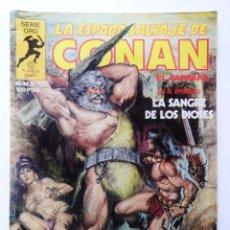 Cómics: LA ESPADA SALVAJE DE CONAN 1ª EDICIÓN SERIE ORO NÚMERO 3. LA SANGRE DE LOS DIOSES. 1982. Lote 109074279