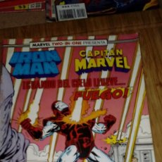 Cómics: IRON MAN Y CAPITÁN MARVEL Nº 49 MARVEL TWO IN ONE. Lote 109185783