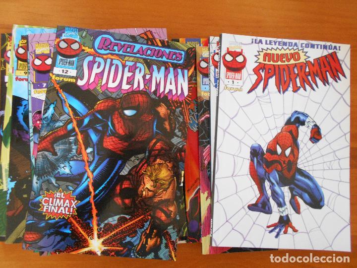 NUEVO SPIDERMAN - VOLUMEN 3 - COMPLETA - NUMEROS 1 A 12 - MARVEL - FORUM (8A) (Tebeos y Comics - Forum - Spiderman)