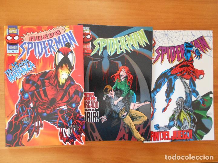 Cómics: NUEVO SPIDERMAN - VOLUMEN 3 - COMPLETA - NUMEROS 1 A 12 - MARVEL - FORUM (8A) - Foto 3 - 109278163