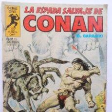 Cómics: LA ESPADA SALVAJE DE CONAN 1ª EDICIÓN SERIE ORO NÚMERO 11. LA TORRE DEL ELEFANTE. 1983. Lote 109289167