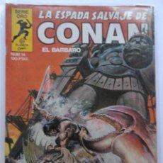 Cómics: LA ESPADA SALVAJE DE CONAN 1ª EDICIÓN SERIE ORO NÚMERO 14. EL COLOSO DE ARGOS. 1983. Lote 109289715