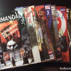 Cómics: X-MEN LA HERMANDAD 1-9 COMPLETA COMICS FORUM MARVEL 2001. Lote 109361554