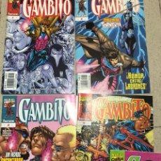 Cómics: GAMBITO MARVEL 5 NÚMEROS. Lote 109393404