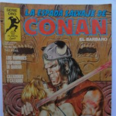 Cómics: LA ESPADA SALVAJE DE CONAN 1ª EDICIÓN SERIE ORO NÚMERO 28. LOS HOMBRES LEOPARDO DE DARFAR. 1984. Lote 109400667