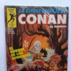 Cómics: LA ESPADA SALVAJE DE CONAN 1ª EDICIÓN SERIE ORO NÚMERO 32. EL BOSQUE DE LOS DEMONIOS. 1984. Lote 109401279