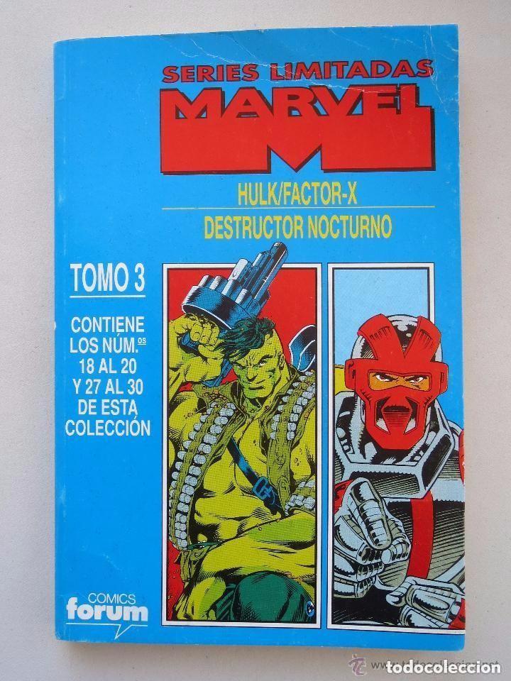 HULK& FACTOR X + DESTRUCTOR NOCTURNO COMPLETASEN UN TOMO RETAPADO (Tebeos y Comics - Forum - Hulk)