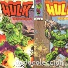 Cómics: HULK DESENCADENADO COMPLETA 2 TOMOS. Lote 109450223