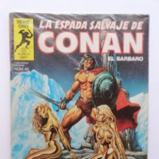 Cómics: LA ESPADA SALVAJE DE CONAN 1ª EDICIÓN SERIE ORO NÚMERO 45. EL DIOS RESUCITADO. 1985. Lote 109452127