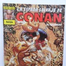 Cómics: LA ESPADA SALVAJE DE CONAN 1ª EDICIÓN SERIE ORO NÚM 49. LOS HOMBRES DE BARRO DE KESHAN. 1986. Lote 109452803