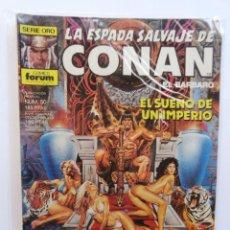 Cómics: LA ESPADA SALVAJE DE CONAN 1ª EDICIÓN SERIE ORO NÚM 50. EL SUEÑO DE UN IMPERIO. 1986. Lote 109452951