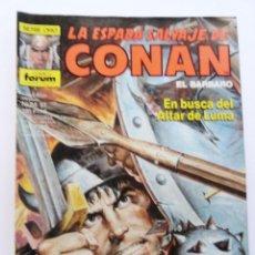 Cómics: LA ESPADA SALVAJE DE CONAN 1ª EDICIÓN SERIE ORO NÚM 51. EN BUSCA DEL ALTAR DE LUMA. 1986. Lote 109453063