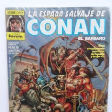 Cómics: LA ESPADA SALVAJE DE CONAN 1ª EDICIÓN SERIE ORO NÚM 61. EL SECRETO DE LA GRAN PIEDRA. 1987. Lote 109453847
