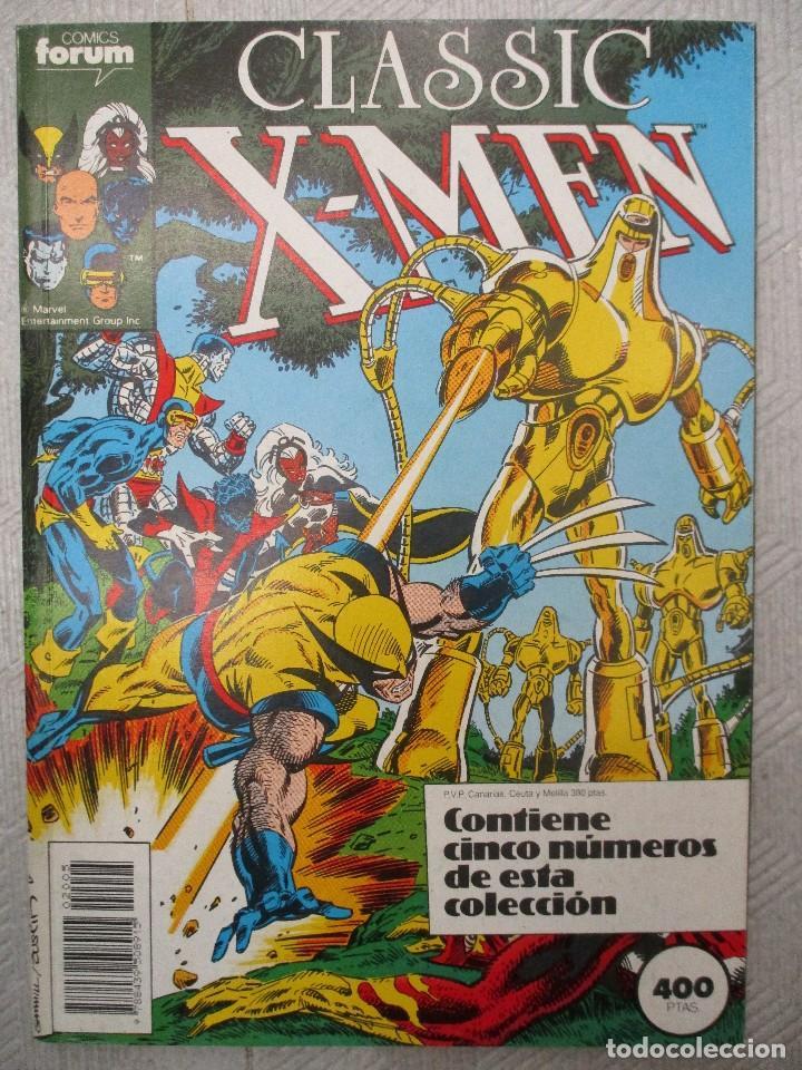 TOMO CLASSIC X MEN CONTIENE LOS NUMEROS DEL 21 AL 25 INCLUSIVE.- FORUM (Tebeos y Comics - Forum - Retapados)