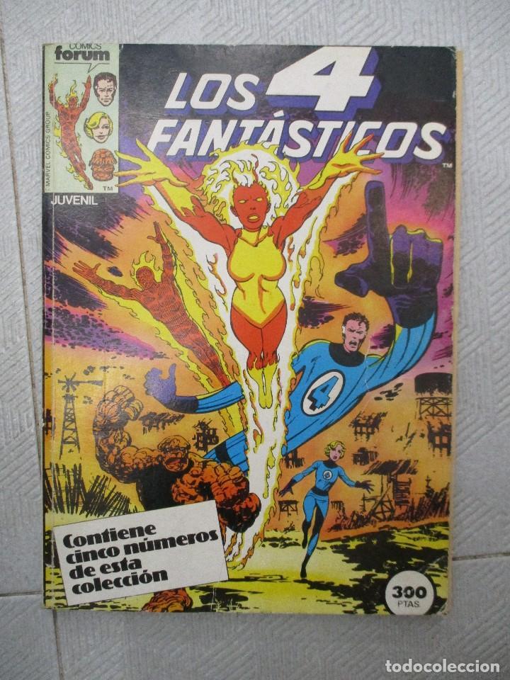 TOMO LOS 4 FANTASTICOS CONTIENE LOS NUMEROS DEL 21 AL 25 INCLUSIVE.- FORUM (Tebeos y Comics - Forum - Retapados)