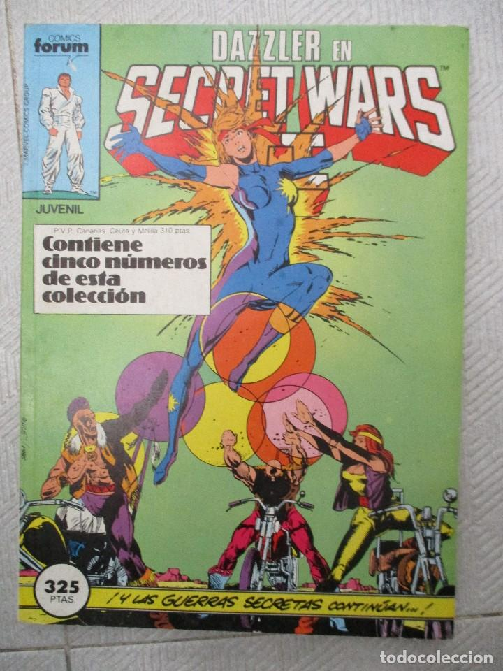 TOMO SECRET WARS II CONTIENE LOS NUMEROS DEL 26 AL 30 INCLUSIVE.- FORUM (Tebeos y Comics - Forum - Retapados)