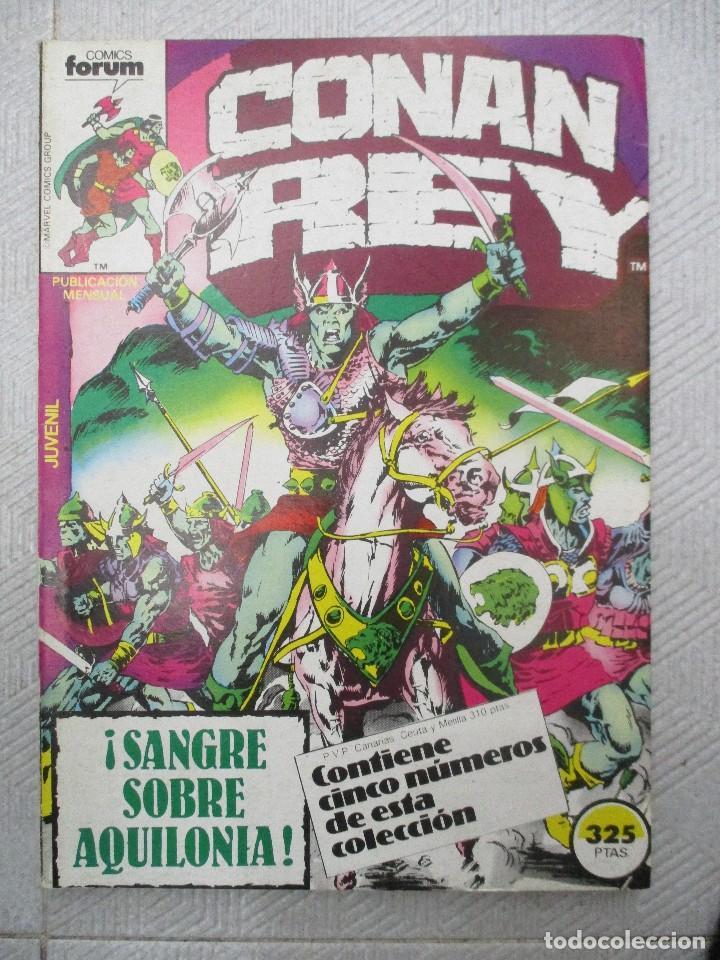TOMO CONAN REY CONTIENE LOS NUMEROS DEL 16 AL 20 INCLUSIVE.- FORUM (Tebeos y Comics - Forum - Retapados)