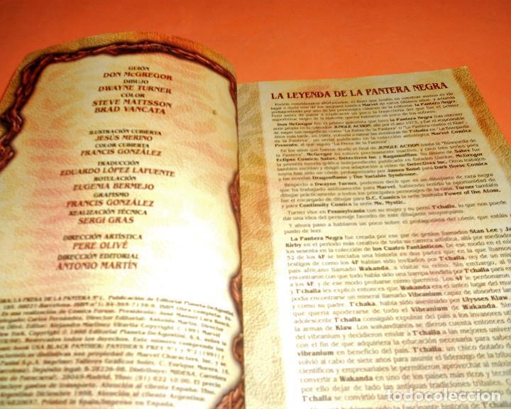 Cómics: PANTERA NEGRA. LA PRESA DE LA PANTERA. DON McGREGOR. DOS TOMOS RÚSTICA. BUEN ESTADO. - Foto 4 - 109596783