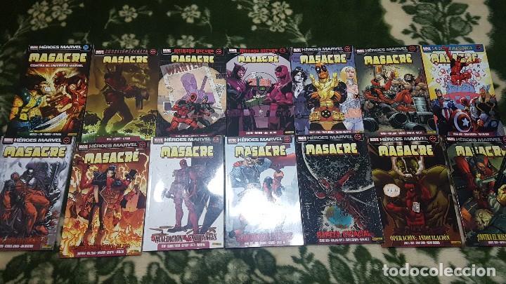 MASACRE VOL.4 (LOTE CON LOS 12 PRIMEROS TOMOS + ESPECIAL) - DESCUENTO 20%¡¡¡ (Tebeos y Comics - Forum - X-Men)