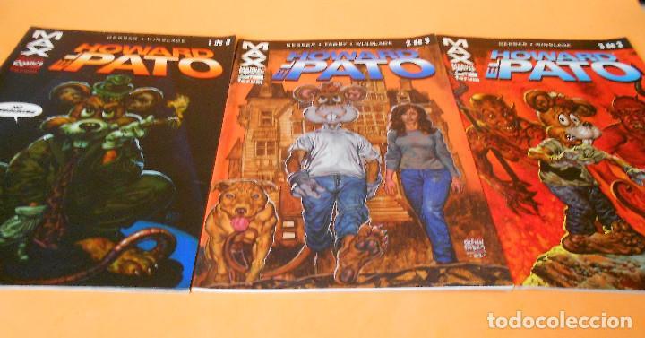 HOWARD EL PATO. COLECCION MAX COMPLETA, TRES NUMEROS. BUEN ESTADO (Tebeos y Comics - Forum - Otros Forum)