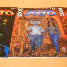 Cómics: HOWARD EL PATO. COLECCION MAX COMPLETA, TRES NUMEROS. BUEN ESTADO. Lote 109757747