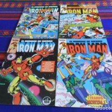 Cómics: FORUM VOL. 1 EL HOMBRE DE HIERRO IRON MAN NºS 1 2 3 4. 1985. 100 PTS. BUEN ESTADO.. Lote 109801031