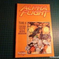 Fumetti: ALPHA FLIGHT. TOMO 4. CONTIENE DEL 16 AL 20. FORUM. Lote 110054567