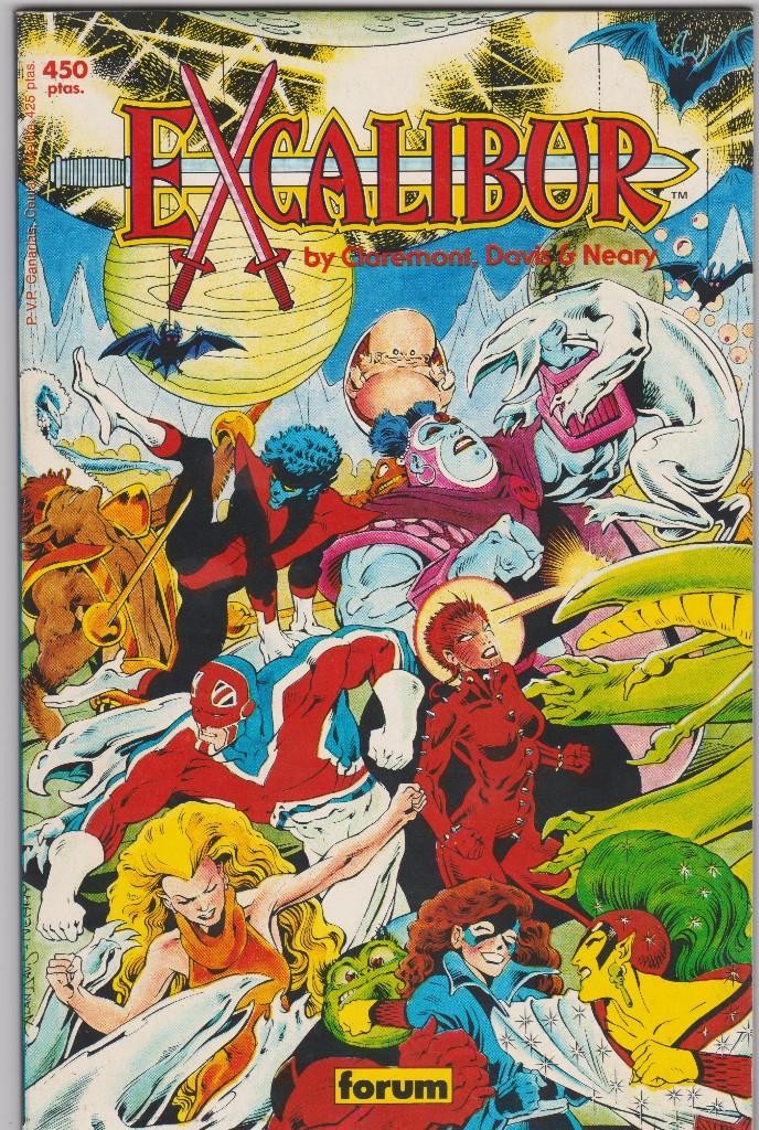 PRESTIGIOS VOL I - Nº 1 EXCALIBUR (Tebeos y Comics - Forum - Prestiges y Tomos)