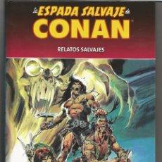 Cómics: LA ESPADA SALVAJE DE CONAN RELATOS SALVAJE N,1. Lote 110246207