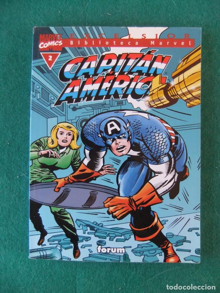 CAPITAN AMERICA Nº 2 BIBLIOTECA MARVEL COMICS FORUM (Tebeos y Comics - Forum - Prestiges y Tomos)
