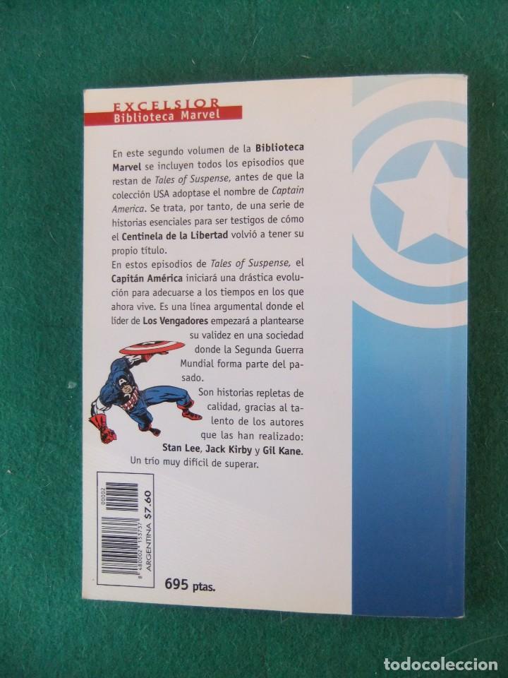 Cómics: CAPITAN AMERICA Nº 2 BIBLIOTECA MARVEL COMICS FORUM - Foto 2 - 110307591