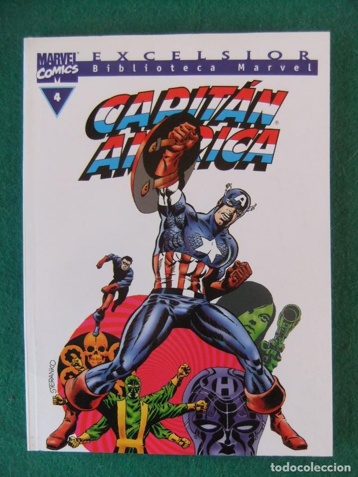 CAPITAN AMERICA Nº 4 BIBLIOTECA MARVEL COMICS FORUM (Tebeos y Comics - Forum - Prestiges y Tomos)