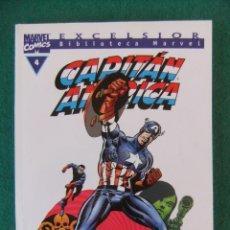 Cómics: CAPITAN AMERICA Nº 4 BIBLIOTECA MARVEL COMICS FORUM. Lote 110308019