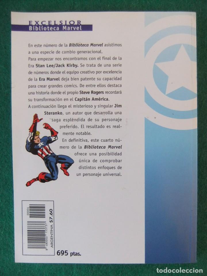 Cómics: CAPITAN AMERICA Nº 4 BIBLIOTECA MARVEL COMICS FORUM - Foto 2 - 110308019
