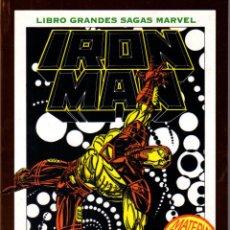 Cómics: LIBROS GRANDES SAGAS MARVEL: IRON MAN MUERTE EN EL CIBERESPACIO. Lote 110342639