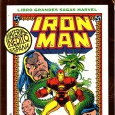 Cómics: LIBROS GRANDES SAGAS MARVEL: IRON MAN LA SEMILLA DEL DRAGÓN. Lote 110343259