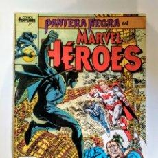 Cómics: COMICS FORUM PANTERA NEGRA EN MARVEL HÉROES N°44. Lote 110432347