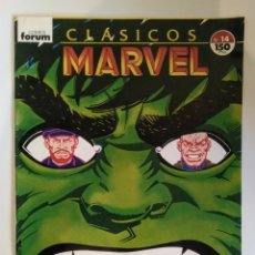 Cómics: CÓMIC FORUM CLÁSICOS MARVEL N°14. Lote 110433398