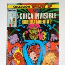 Cómics: COMICS FORUM COLECCIÓN WHAT IF LA CHICA INVISIBLE HUBIERA MUERTO N°5. Lote 110437987