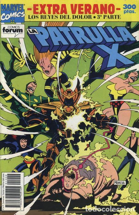 LA PATRULLA-X EXTRA VERANO 1992 - FORUM. LOS REYES DEL DOLOR 3ª PARTE. ESPECIAL VERANO 1992 FORUM. (Tebeos y Comics - Forum - Patrulla X)
