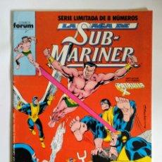 Cómics: COMICS FORUM LA SAGA SUB-MARINER N°6. Lote 110548706