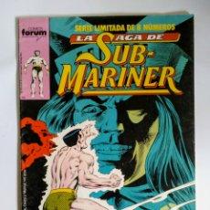 Cómics: COMICS FORUM LAS HAGA SUB-MARINER N°4. Lote 110548900
