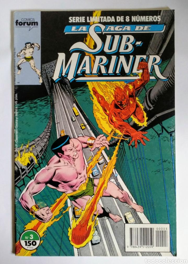 COMICS FORUM LA SAGA DE SUB-MARINER N°3 (Tebeos y Comics - Forum - Otros Forum)
