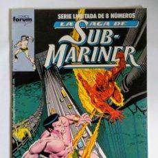 Cómics: COMICS FORUM LA SAGA DE SUB-MARINER N°3. Lote 110549022