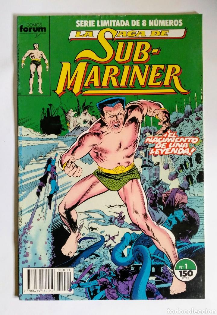 COMICS FORUM LA SAGA DE SUB-MARINER N°1 (Tebeos y Comics - Forum - Otros Forum)