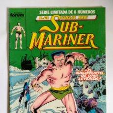 Cómics: COMICS FORUM LA SAGA DE SUB-MARINER N°1. Lote 110549280