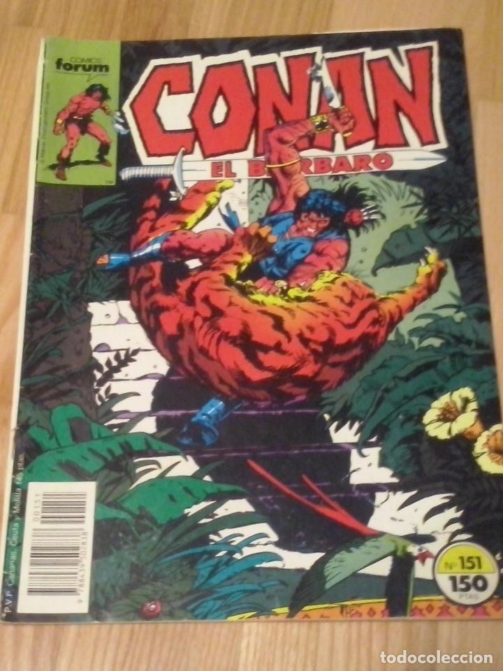COMIC CONAN EL BARBARO FORUM PLANETA VOLUMEN 1 NUMERO 151 (Tebeos y Comics - Forum - Conan)