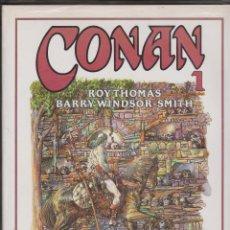 Cómics: CONAN --NOVELAS GRÁFICA DEL 1 AL 5 -- ROY THOMAS -- BARRY WINDSOR-SMITH. Lote 110920039