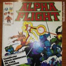 Comics : MARVEL TWO IN ONE ALPHA FLIGHT DEL 32 AL 36. Lote 111036919