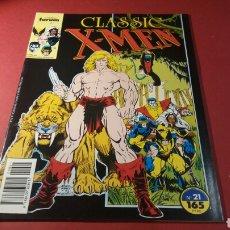 Cómics: CLASSIC X MEN 21 EXCELENTE ESTADO FORUM. Lote 111046998